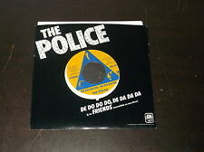 "1980 THE POLICE ORIGINAL 45 RPM FRIENDS DE DO DO DO DE DA DA DA 7"" A & M"
