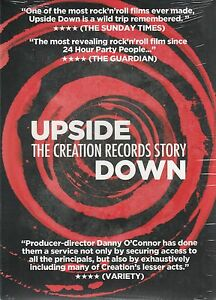 Upside-Giu-The-Creation-Records-Story-2014-UK-Regione-2-Pal-DVD-Nuovo-Sealed