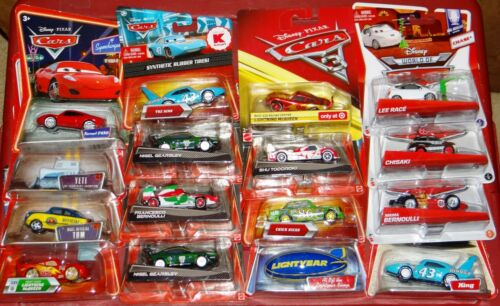 YOU CHOOSE!! DISNEY CARS K-MART SYNTHETIC RUBBER TIRES