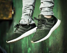 4fa3a28bbd518 Adidas Ultra Boost 3.0 Night Cargo Clay S80637 12 UK Mens Trainers Running  Green