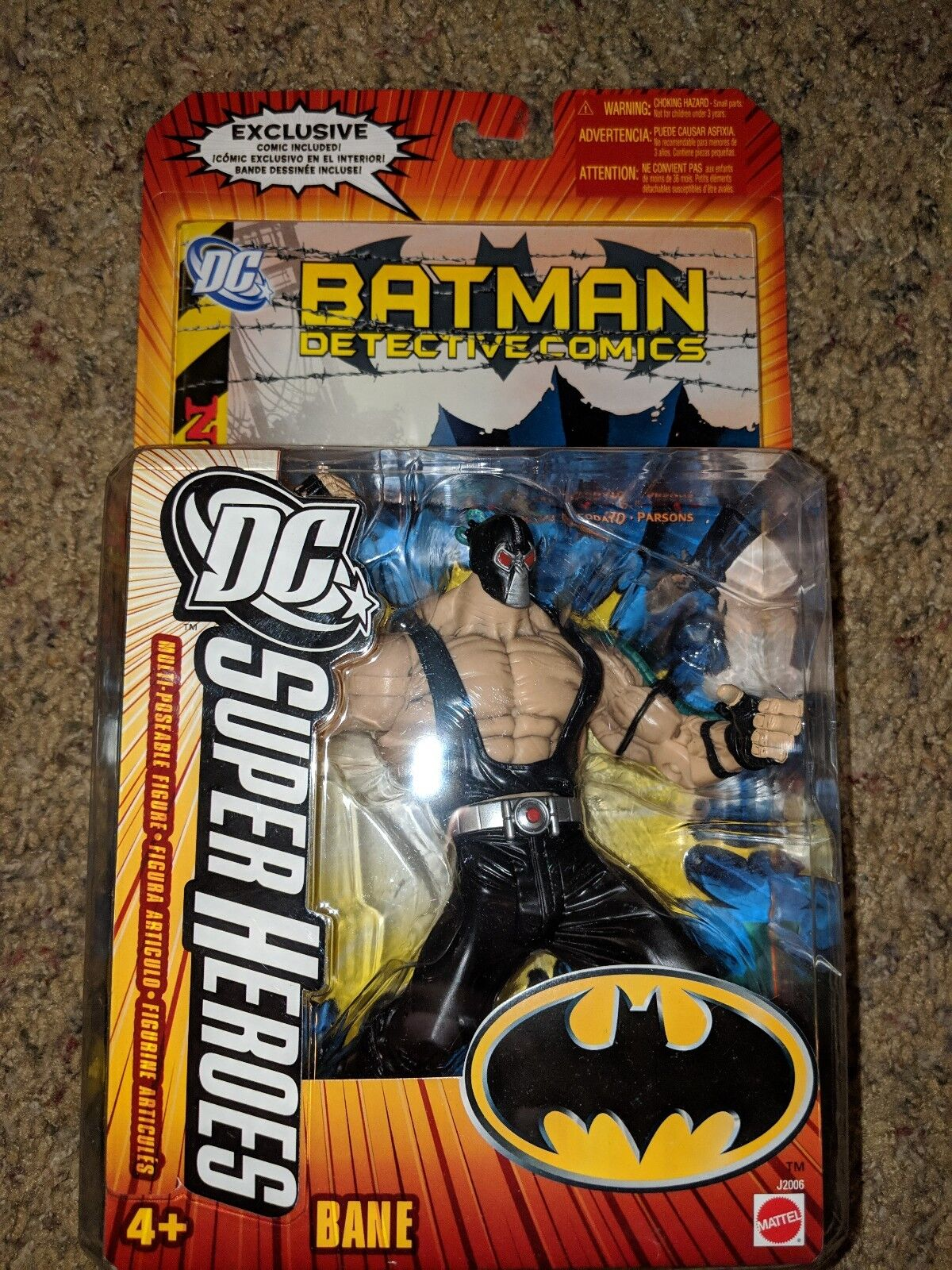 DC Universe Classics Superheroes Select Batman Bane Action FIgure 2005 Mattel