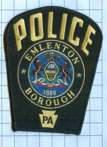 Pennsylvania Emlenton Borough 1859 Police Patch