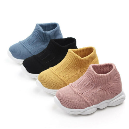 Toddler Kids Unisex Baby Girls Boys Simple Mesh Sport Run Sneakers Casual Shoes