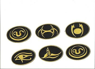 Stargate SG-1 TV Show- System Lord Patch Set of 6