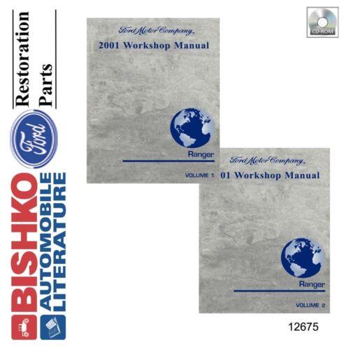 2001 Ford Ranger Truck Shop Service Repair Manual CD