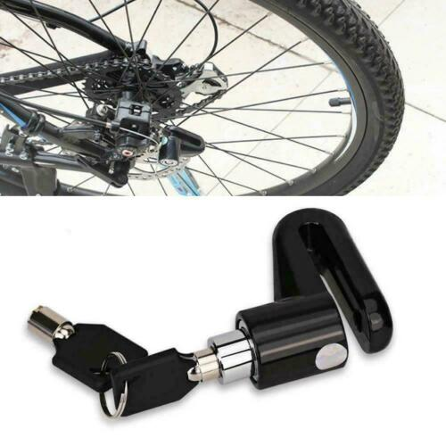 Anti-theft Wheel Disc Brake Lock Security Alarm Motorcycle Bicycle Scooter Y4U2