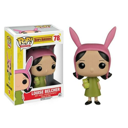 Bob/'s Burgers LOUISE BELCHER 78 Vinyl Figures Doll Toy Cartoon Gifts for Kids