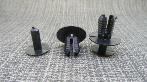 Panel guarnecido interior//exterior inteligente falda de lado Parachoques /& Arco Recortar Clip
