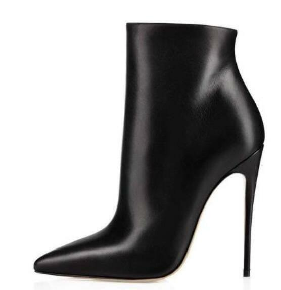 Fashion Womens Knee High Boots Pointy Toe Sexy European Style High Heel shoes