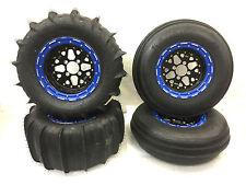 "DWT Sector 14"" Beadlock Rims STU Sand Blaster Paddle Tires Yamaha YXZ 1000 1000R"