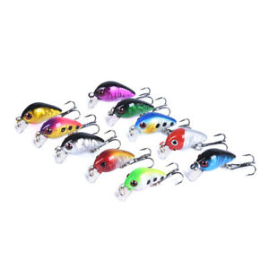 10pcs-Fishing-Lures-Mini-3cm-1-6g-Rock-Fat-Lure-Carbon-Steel-TrebleFishingH-NTAT