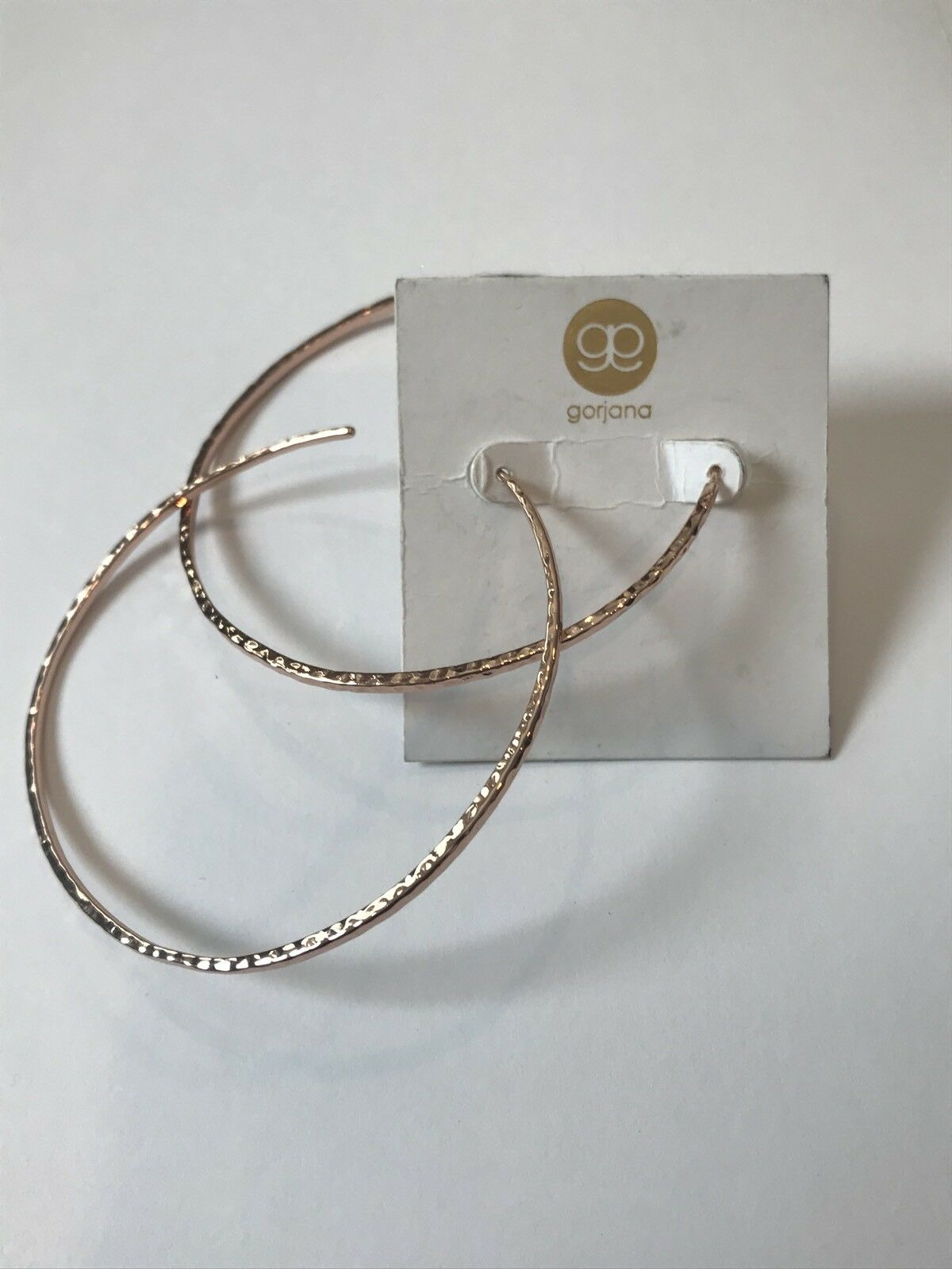 Taner Extra Large Hoop Earrings GORJANA pink Tone