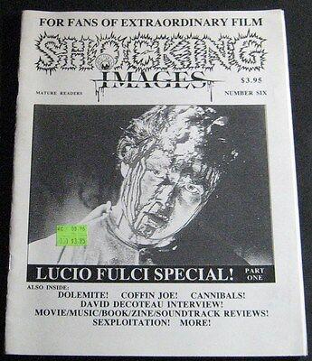 Shocking Images #6 1996-Lucio Fulci Special Pt 1 (Fanzine )
