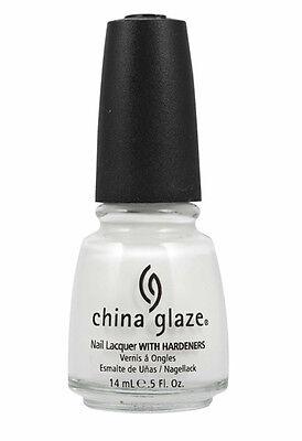 China Glaze Nail Polish - White Out 0.5 oz, 15ml - 70276