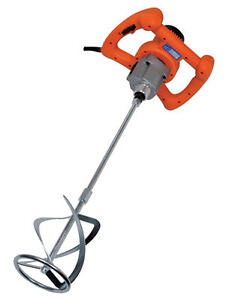 Twin Paddle Electric Plaster Mixer 240 Volt Twin Paddle Paint Mixer 1400 Watt