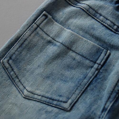 3Pcs Toddler Baby Boy Kids Gentleman Blazer Coat T-shirt Denim Pants Outfits Set