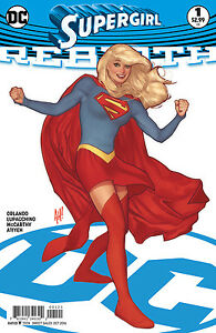 SUPERGIRL-REBIRTH-1-ADAM-HUGHES-VARIANT-New-First-print-DC-Comics-2016