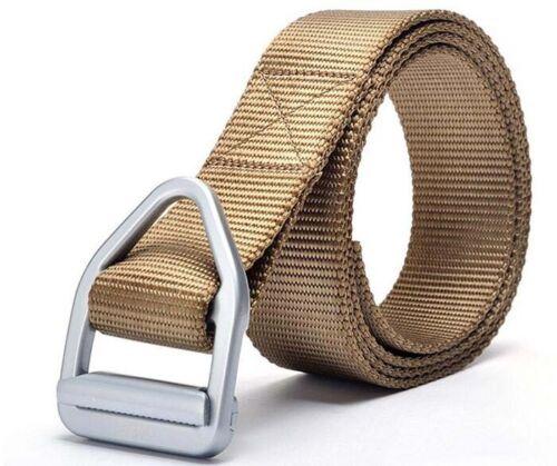 Unisex Survival Tactical Belt Emergency Rescue Rigger Military Waistband Belt