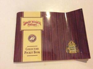 DAVID WINTER COTTAGES *Collectors Pocket Book* 1989