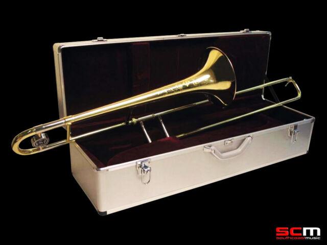 Suzuki MCTB-1 Master Class Trombone Superior Student Instrument w Aluminium Case