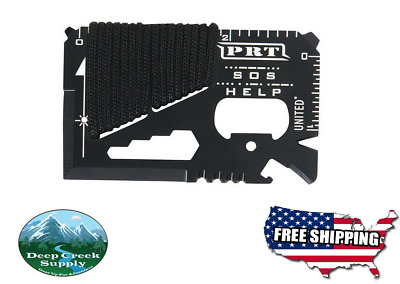 TSA Approved wallet Survival card 11 function multi-tool with case easy for EDC