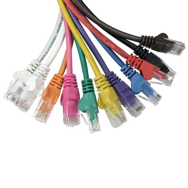 RJ45 Ethernet Cat5e Network Cable Internet LAN Patch Lead Wholesale 0.25m To 50m