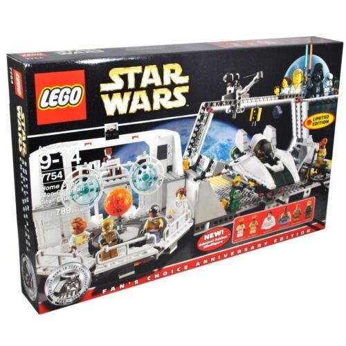 LEGO STAR WARS 7754 Home One Mon Calamari Star Cruiser Ackbar Mon Mothma General