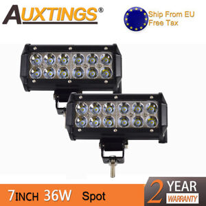 LED Luce Da Lavoro Bar Combo OFFROAD tetto luci lampada di guida auto camion barra Set 4x4