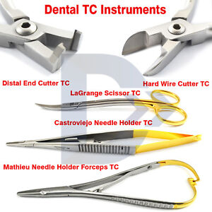 Dental-Orthodontic-Mathieu-Needle-Holder-Castroviejo-Distal-End-Cutter-Hard-Wire