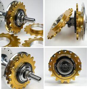 VeloSolo-UK-MADE-3-32-034-CNC-fixed-TRACK-COG-GOLD-15-16-17-18-19-sprocket-fixie