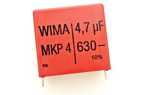WIMA mkp4 4,7µf 680v 10/% POLIPROPILENE diapositive CONDENSATORE 37,5mm #708502
