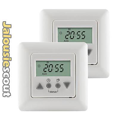 2x Vestamatic Multi Time Control Rolladen Zeitschaltuhr