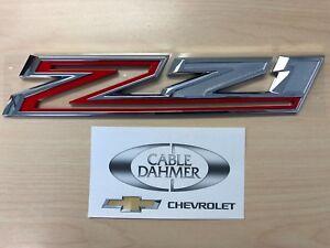 Cable Dahmer Chevrolet >> New! 2019 Chevrolet Silverado 1500 GM OEM Z71 Off Road Emblem 23400397 | eBay
