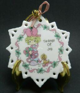 1993 Enesco Precious Moments Porcelain Snowflake Christmas ...