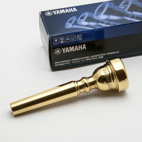 17B4 NEW Genuine Yamaha 24K Gold Trumpet Mouthpiece Ships Fast!