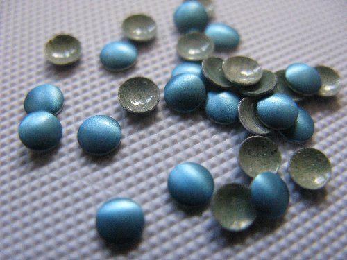 360 Hotfix  Aluminium Nailhead 3mm Blau Matt