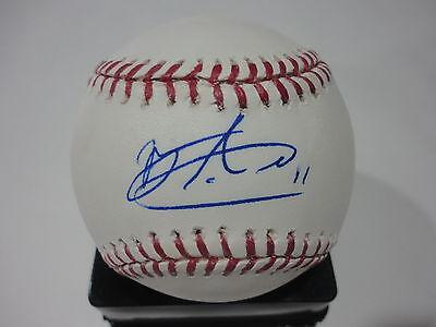 Liberal Michael Almanzar Boston Red Sox Autographed Signed Major League Baseball W/coa Autographs-original