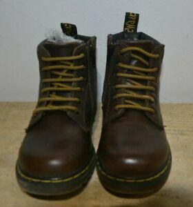 Dr Martens Padley J Brown Leather Size
