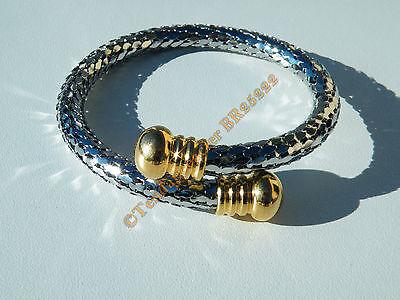 Bracelet Acier Inoxydable Maille Vénitienne Argent 3 mm