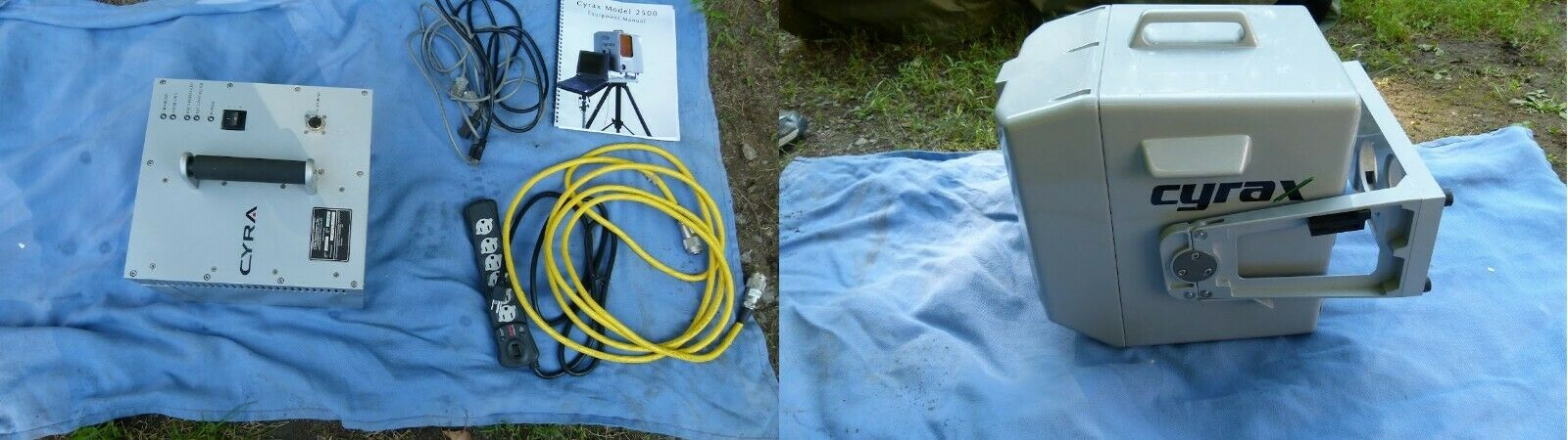 Set of - Cyra 2500 Cyrax 3d Laser Survey Scanner System with Cords