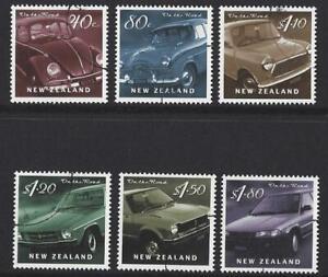 New Zealand 2000 On The Road Motor Cars Set Of 6 Fine Used Ebay