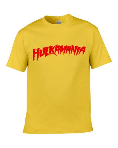 """HOGAN Hulkamania Hulk Déguisement Lutte Lutteur T-shirt Bandana /& /""""Tash"""