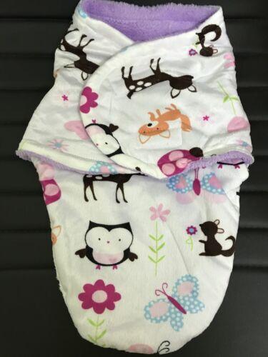 Baby Newborn Soft Fleece Swaddling Wrap Blanket Pram Crib Basket Boy Girl Unisex