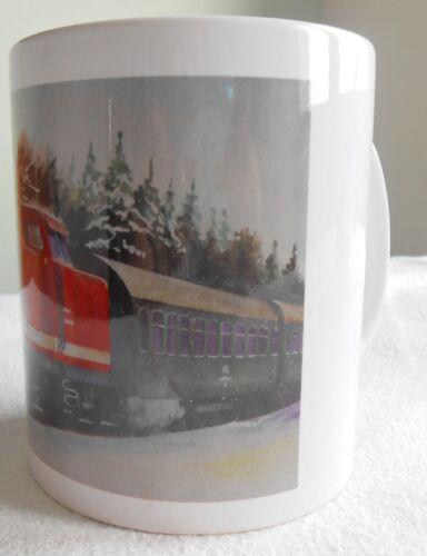 Tasse mit Motiv  Diesellokomotive  112 375-0