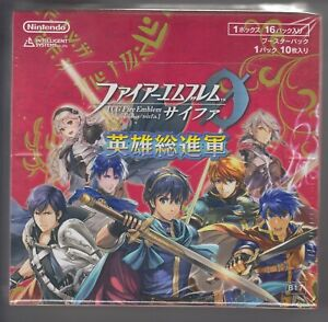 Fire Emblem 0 Cipher Card Game Booster Part 22 Sealed Box B22 Japanese