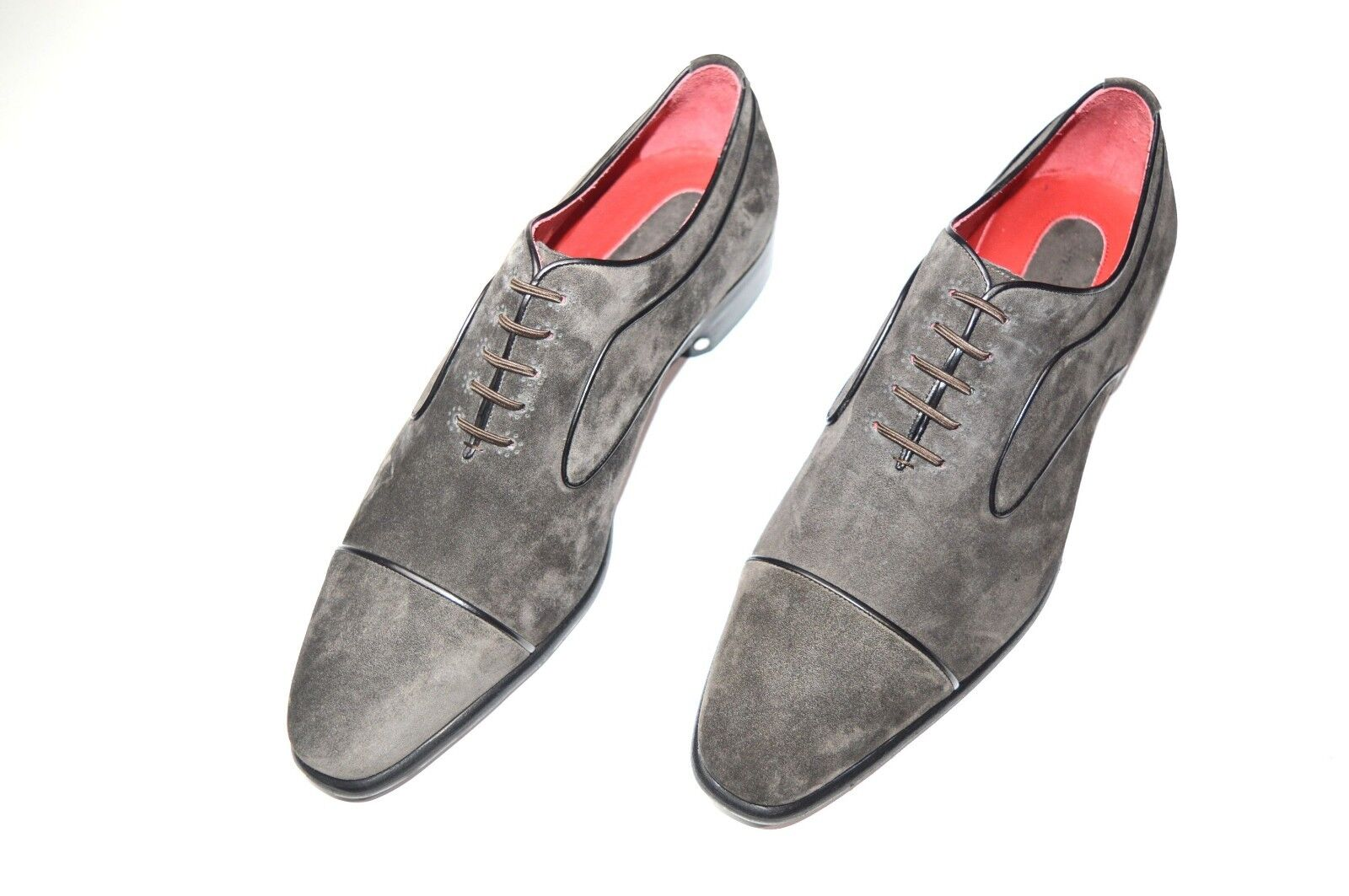 Nuevo De Lujo Cuero STEFANO RICCI Zapatos Talla nos 8.5 (COD A203)