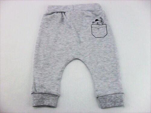 Babyset Set Jungen Jogging 2-teilig Bär Hose Pullover 56 62 68 74 Baumwolle Neu