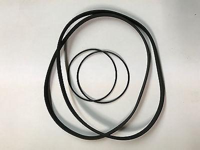 *New 4 Belt Replacement BELT SET* SONY TC-WR99ES  DUAL Cassette Player