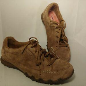 eficientemente Conciencia grava  Sketcher's Para Mujer Talla 9 Relaxed Fit refrigerado por aire de espuma de  memoria de Zapatos de Gamuza Marrón | eBay