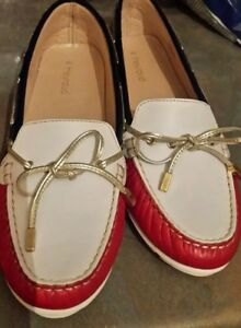 Designer Ladies Boat 7 'heyraud' Shoes Leather Italian SEEaR4